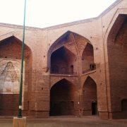 مسجد مطلب خان خوی بزرگترين مسجد روباز جهان