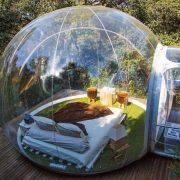 خوابی راحت در میان حبابها