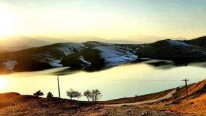دریاچه اکباتان همدان