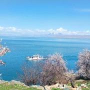 دریاچه وان _ بزرگترن دریاچه ترکیه