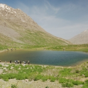 دریاچه و تنگه کوه گل