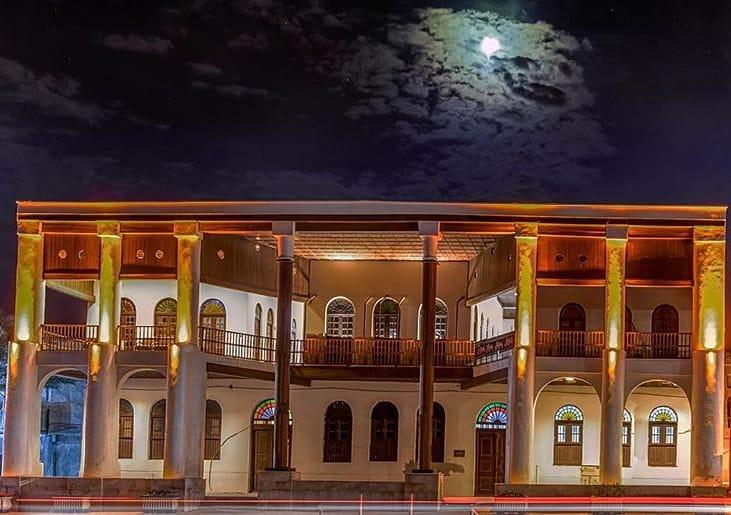 عمارت امیریه یکی از دیدنی های تاریخی بوشهر