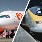 قطار و هواپیما