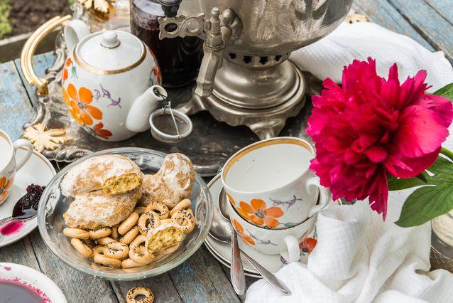چای در روسیه