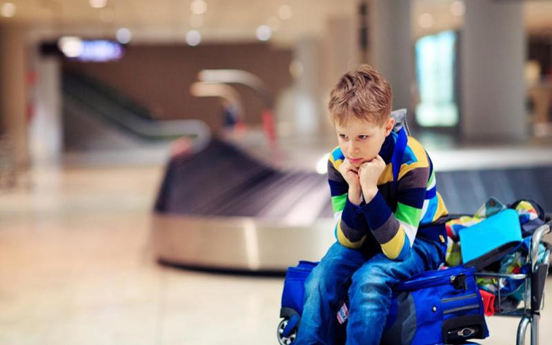 بار مجاز کودکان در سفر