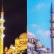 تفاوت جالب روز و شب شهر استانبول