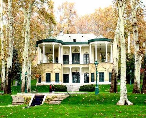 موزه باغ ملک آباد
