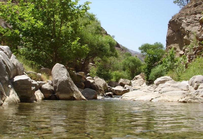 آبشار دربند روستای نِهران