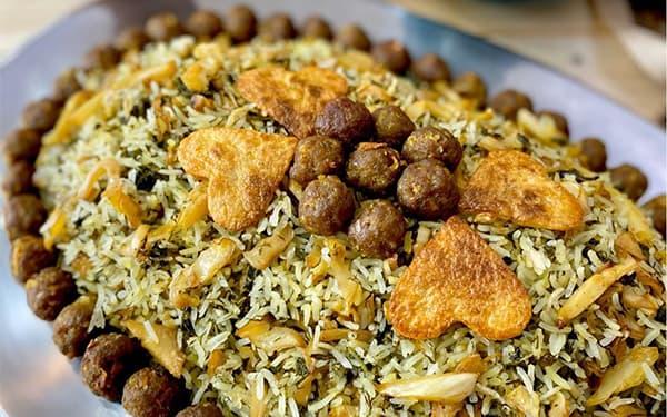 کلم پلوی شیرازی-غذاهای محلی