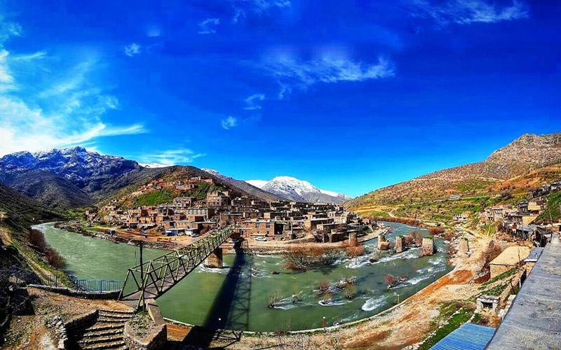 روستای پالنگان کامیاران